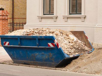 Kontener na odpady mieszane Poznań