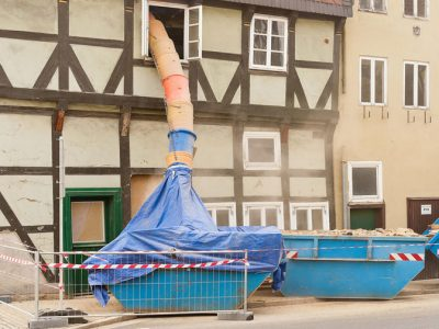 Kontener na odpady mieszane w Poznaniu